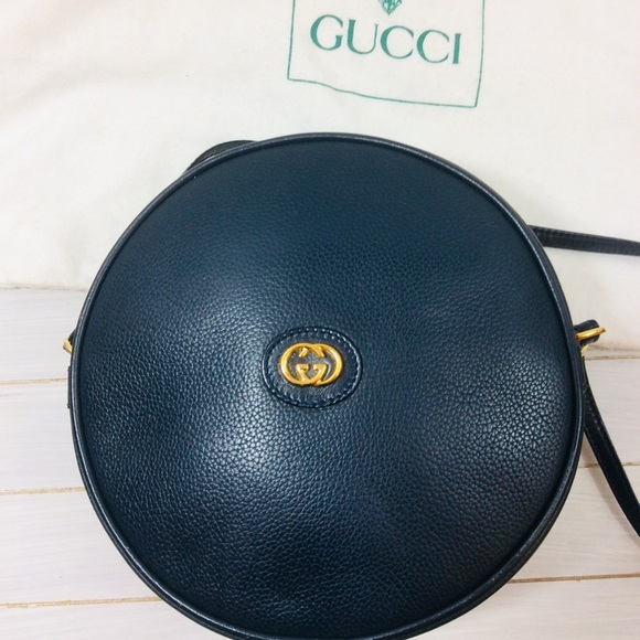 4b7d99500ff Gucci Handbags - Gucci Round Canteen GG Crossbody Bag